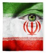 Go Iran Fleece Blanket