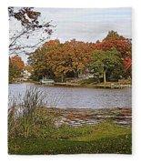 Go Live On The River Fleece Blanket