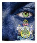 Go Maine Fleece Blanket
