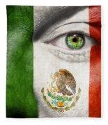 Go Mexico Fleece Blanket