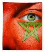 Go Morocco Fleece Blanket