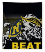 Go Navy Beat Army Fleece Blanket