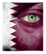 Go Qatar Fleece Blanket