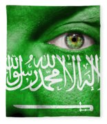 Go Saudi Arabia Fleece Blanket