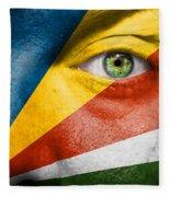 Go Seychelles Fleece Blanket