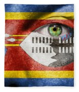 Go Swaziland Fleece Blanket