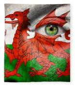 Go Wales Fleece Blanket