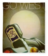 Go West Fleece Blanket