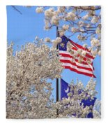 God Bless America March 2014 Fleece Blanket