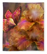Goddess Of Sunrise Fleece Blanket