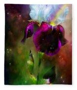 Goddess Of The Rainbow Fleece Blanket