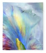Goddess Of Thought Fleece Blanket