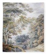 Godinton, Near Ashford, Kent Fleece Blanket