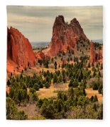 Gods Garden In Colorado Fleece Blanket