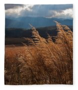 Gods Paintbrush IIi Fleece Blanket