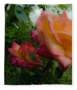 God's Roses Fleece Blanket