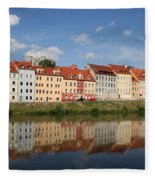 Goerlitz Germany Fleece Blanket