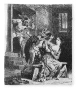 Goethe: Doctor Faust Fleece Blanket