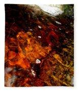 Gold And Myrrh Fleece Blanket