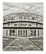 Gold Dome Fleece Blanket