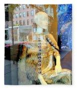 Gold Glamour Fleece Blanket