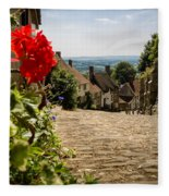 Gold Hill Shaftesbury Fleece Blanket