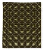 Gold Metallic 17 Fleece Blanket