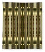 Gold Metallic 18 Fleece Blanket