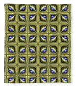 Gold Metallic 19 Fleece Blanket