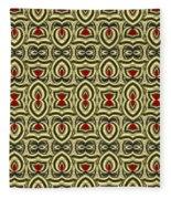 Gold Metallic 7 Fleece Blanket
