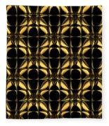 Gold Metallic 8 Fleece Blanket