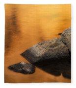 Gold Fleece Blanket