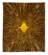 Gold Star Fleece Blanket