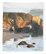 The Oregon Coast Fleece Blanket