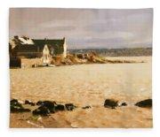 Golden Afternoon Fleece Blanket