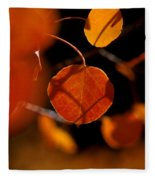 Golden Beauty Fleece Blanket