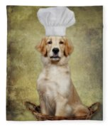 Golden Chef Fleece Blanket