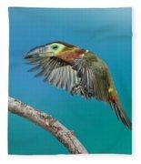 Golden-collared Toucanet Fleece Blanket