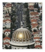 Golden Dome Fleece Blanket