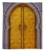 Golden Door Fleece Blanket