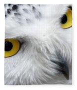 Golden Eyes Fleece Blanket