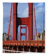 Golden Gate Bridge Fleece Blanket