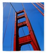 Golden Gate Tower Fleece Blanket
