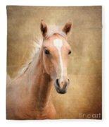 Golden Girl Fleece Blanket