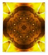 Golden Harmony - 2 Fleece Blanket