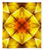 Golden Harmony - 3 Fleece Blanket