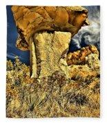Golden Hoodoo Fleece Blanket