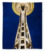 Golden Hour Tower Fleece Blanket