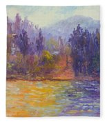 Golden Lake Gregory Fleece Blanket