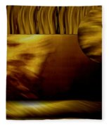 Golden Landscape Fleece Blanket